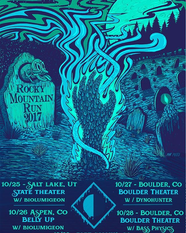 10/28 catch me at @bouldertheater with @papadosio !!! It's Halloween weekend, what should I dress up as?? 🔮☠
